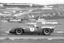 Lola T70 John Surtees, Brands Hatch August Bank Holiday 1966. Photo.